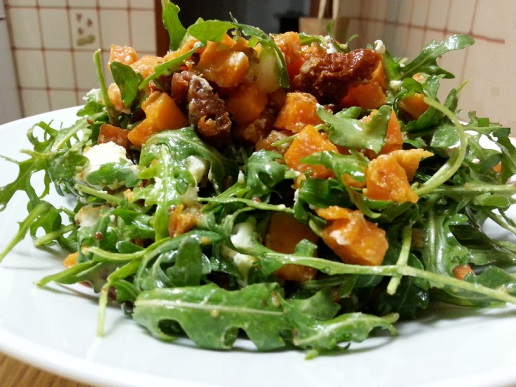 salat s tikvoj