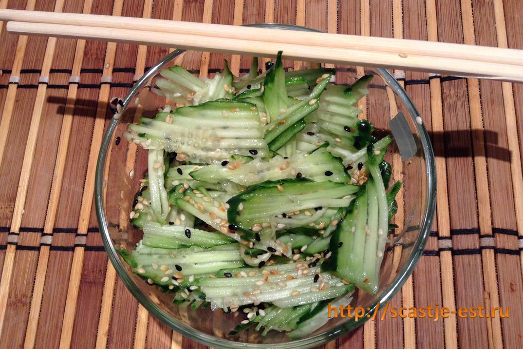 Вкусныеы салатов с баклажанами