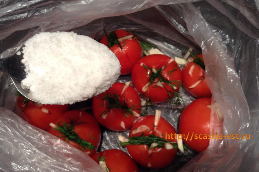 Малосольные помидоры быстрого приготовления рецепт видео