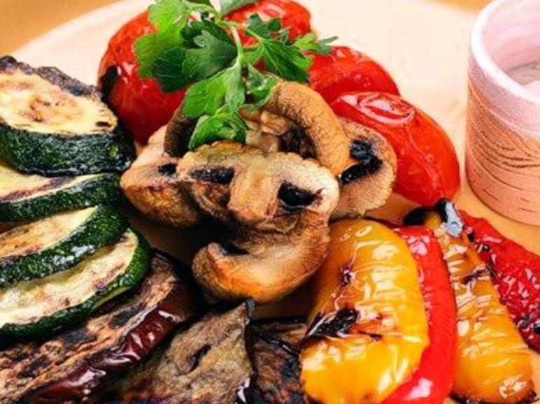Рецепт овощи с гриля