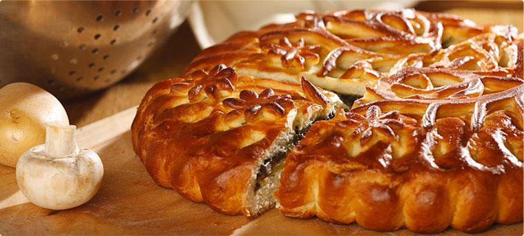 Вкусные дрожжевые пироги с