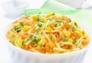 Салат из свежей капусты — 8 очень вкусных рецептов с фото