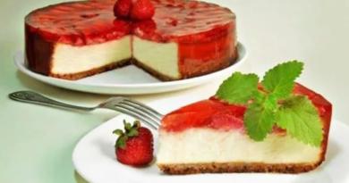 Чизкейк без выпечки — 5 классических рецептов в домашних условиях