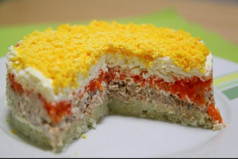 салаты рецепты мимоза с фото простые и вкусные