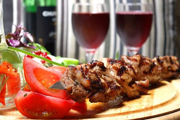 маринад для шашлыка с красным вином