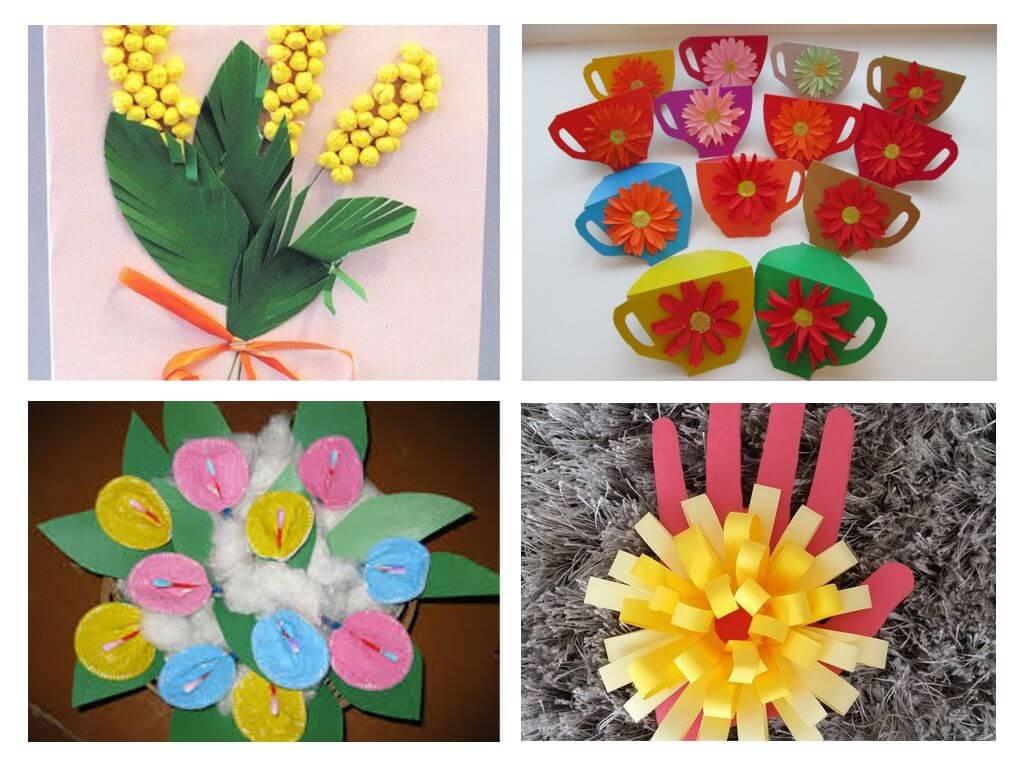 Открытка с цветами своими руками: лучшие идеи и мастер-классы 31