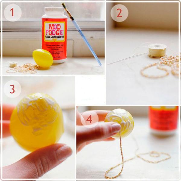 3 Мастер класс декорирование яиц