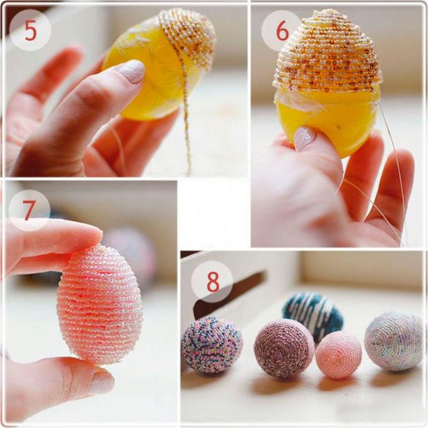 4 Мастер класс декорирование яиц