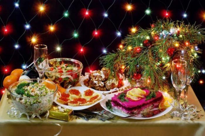 салаты на Новый год