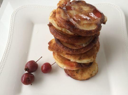 оладьи с яблоками классический рецепт