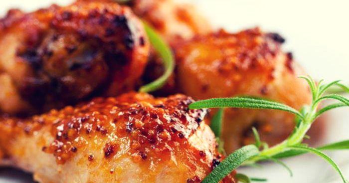 маринад для курицы с медом и горчицей