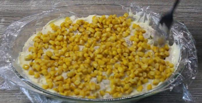 шестой слой - кукуруза