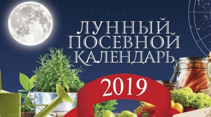 лунный посевной календарь 2019
