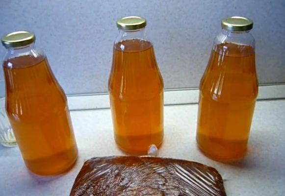 яблочный сок с сахаром