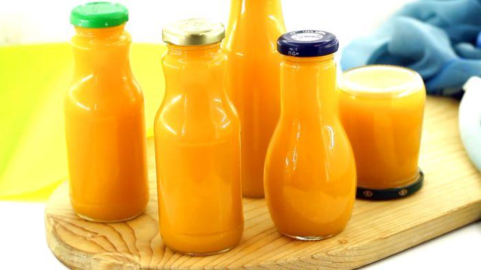 сок из яблок, тыквы и апельсина