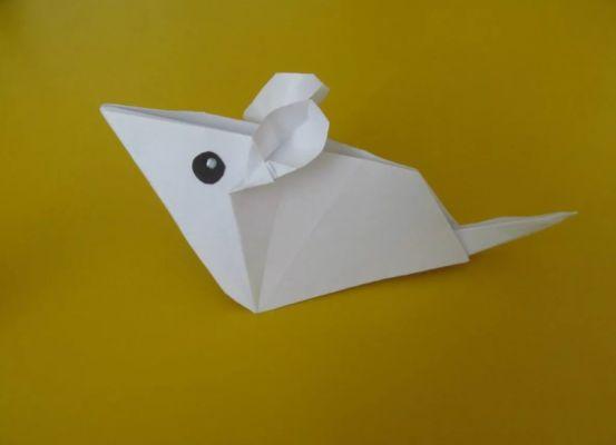 мышка оригами
