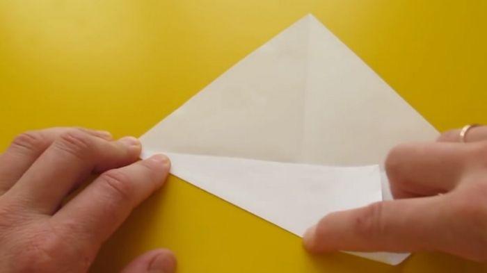 стороны соединяем с диагоналями