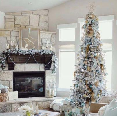 украшение дома на новый год