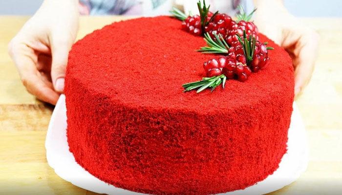 Торт «Красный бархат» - 5 лучших рецептов в домашних условиях