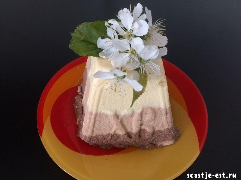 Заварная творожная пасха «Три шоколада» — вкусный и простой рецепт