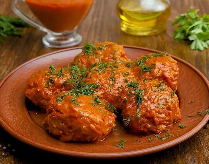 Ленивые голубцы с капустой, рисом и фаршем — простые рецепты