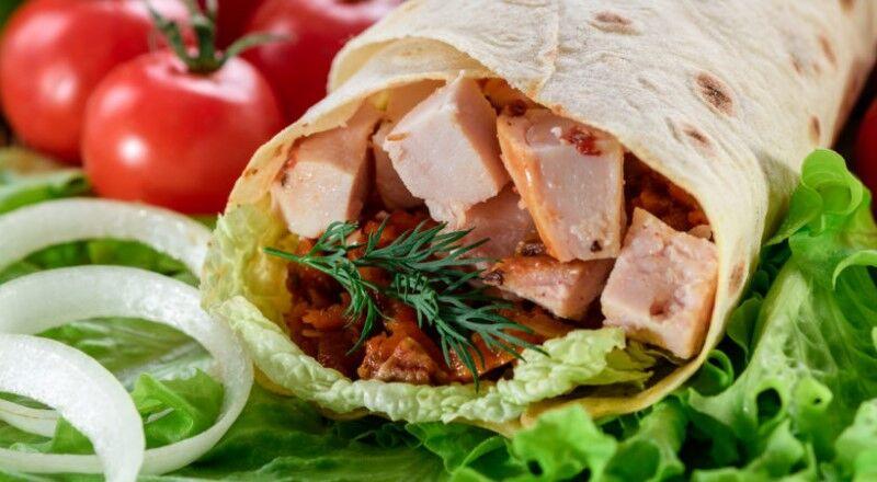 Шаурма в лаваше с курицей в домашних условиях — 5 рецептов