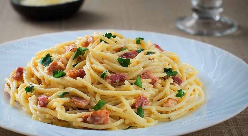 Паста карбонара — 6 классических рецептов в домашних условиях