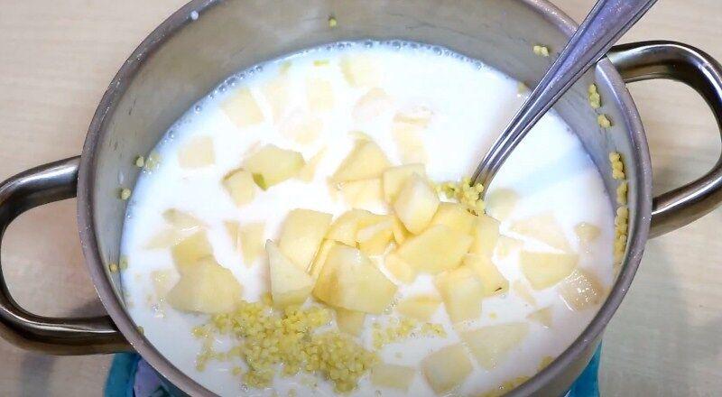 Пшенная каша на молоке - 10 рецептов вкусной каши
